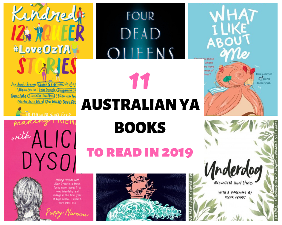 Australian Young Adult Books 2019