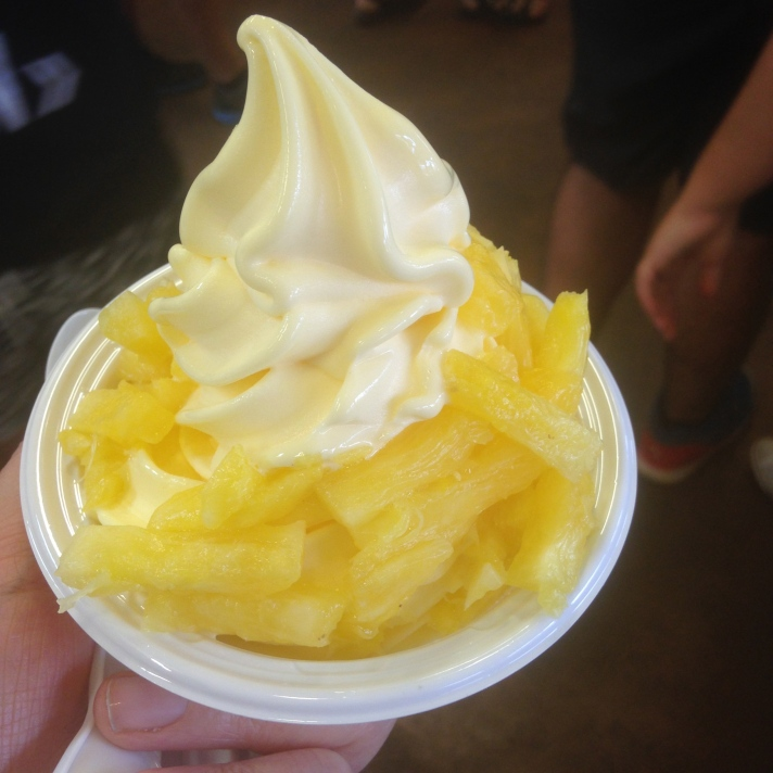dole whip pineapple