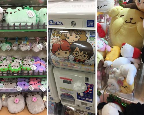 Japan Toys Capsule Plushies