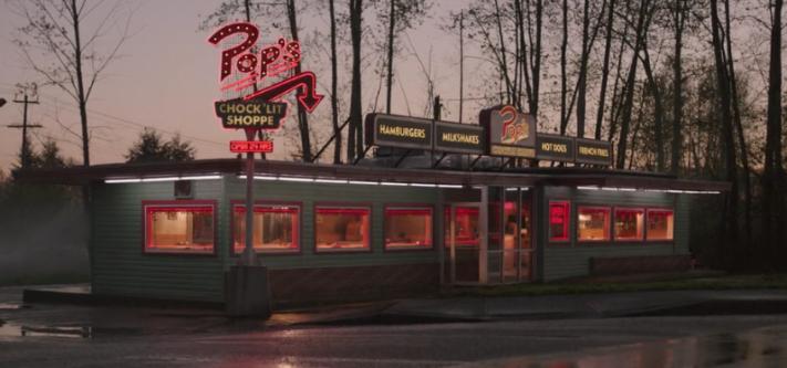 Pop's Chocklit Shoppe Pop Tate Archie Comics Diner Riverdale The CW