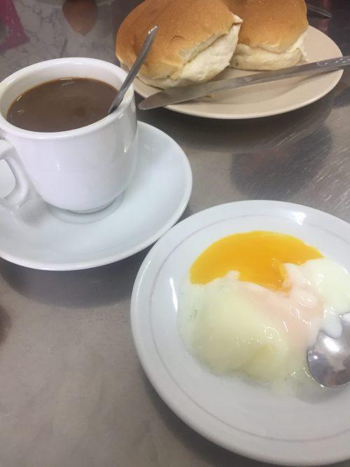 Singapore Food Kaya Toast Kopi