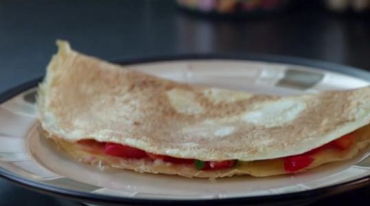 izombie brain food omelette
