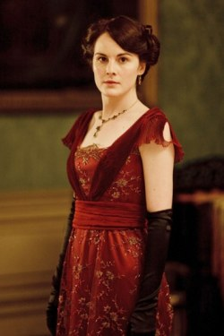 downton-abbey-mary-red-dress