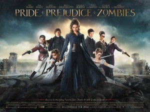 Pride and Prejudice and Zombies Lily James 2016 Movie