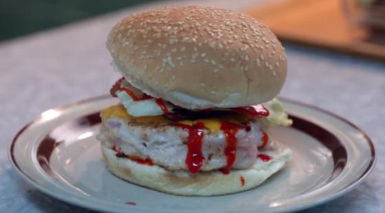 The Whopper iZombie BLT cheeseburger Brains Food