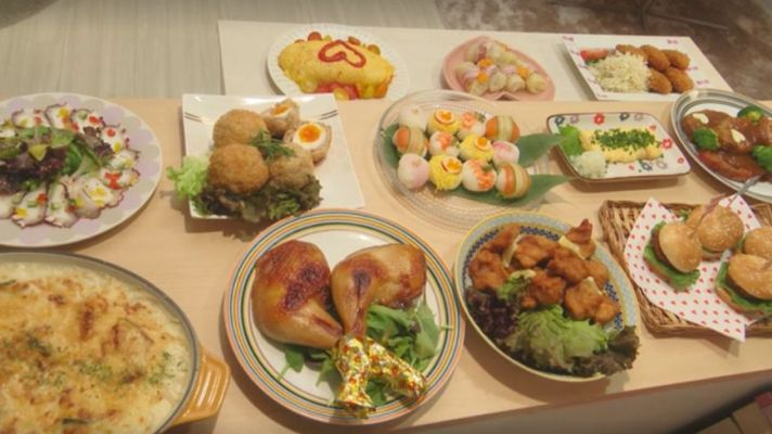 Uehara Birthday Dinner Good morning call japan food