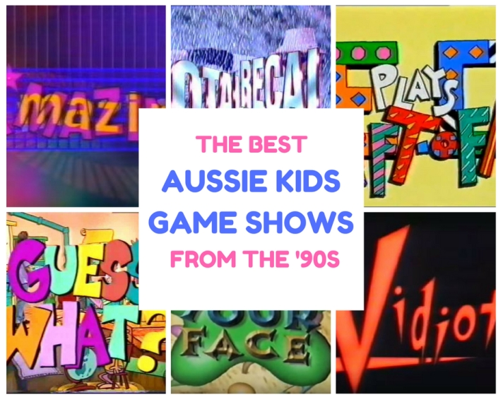 A*mazing Vidiot EC Plays Lift-Off Pick Your Face Total Recall Aussie Kids Game Shows 90s