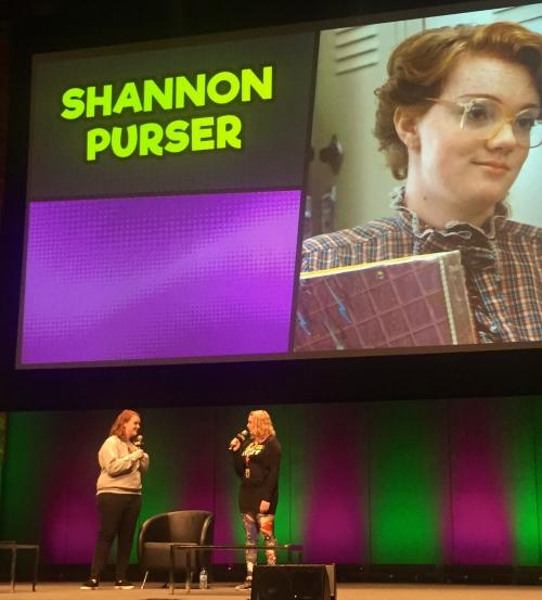Shannon Purser Oz Comic Con