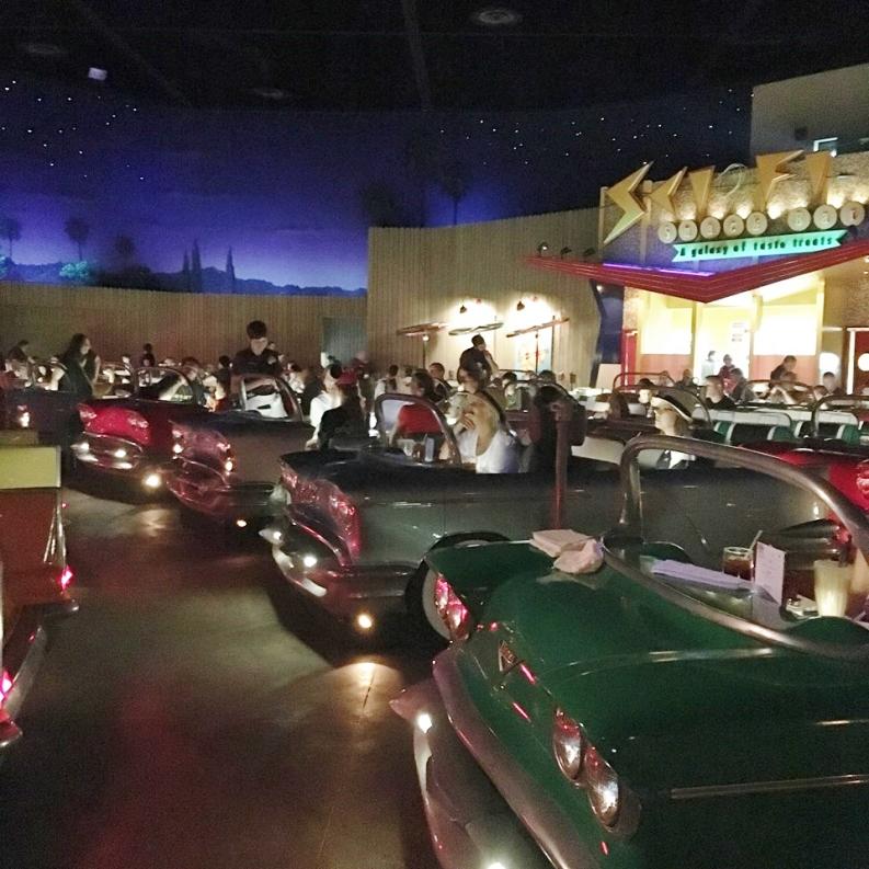Sci-Fi Dine In Disney Cars