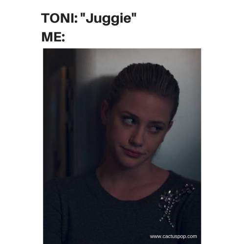 Toni Betty Jughead Riverdale