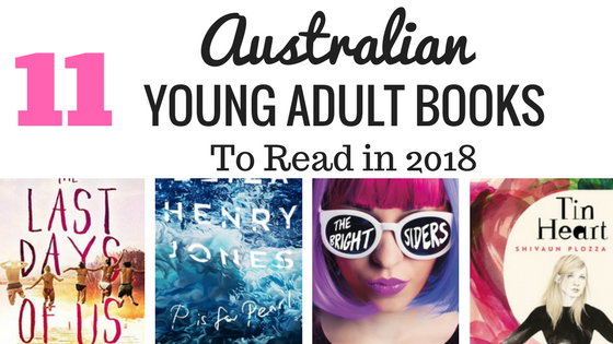 Australian Young Adult Books to read 2018