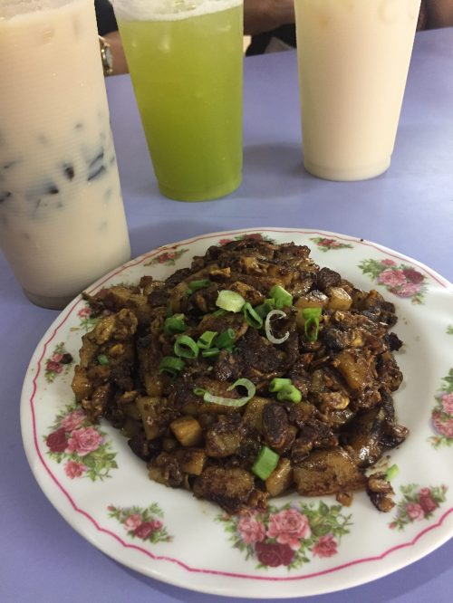 Singapore Food Carrot Cake