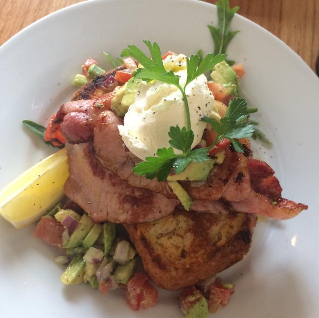 Foxtrot Cafe Cornbread Port Melbourne
