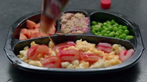 Microwave Meal iZombie Brain Food Mac and Cheese
