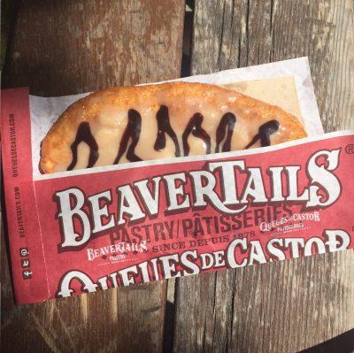 maple butter beavertail