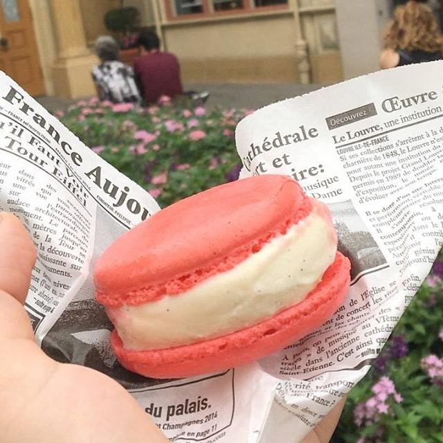 Macaron L'Artisan des Glaces Ice Cream Sandwich Disney