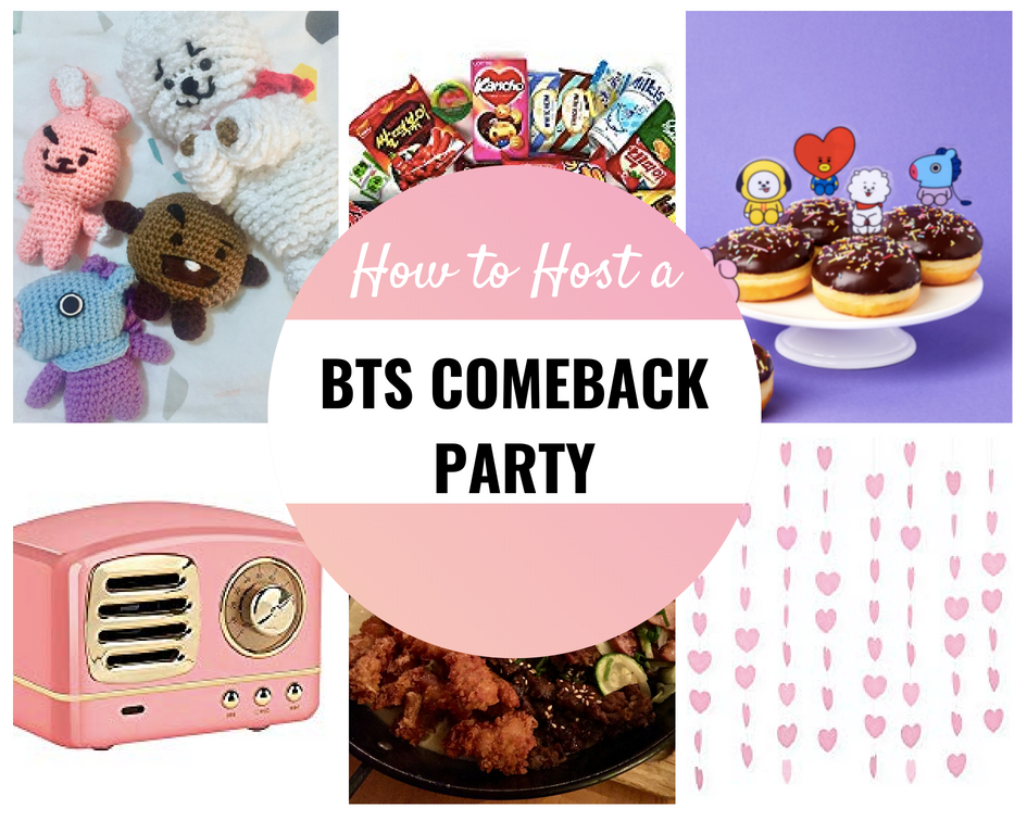 BTS Comeback Party