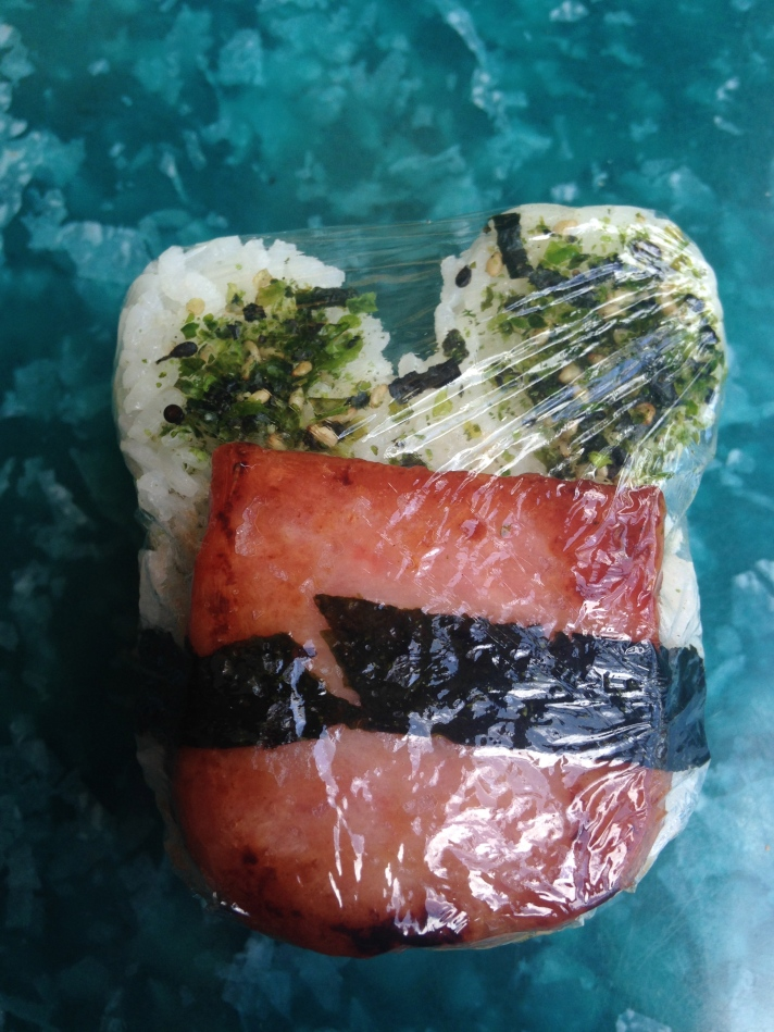 mickey mouse spam musubi
