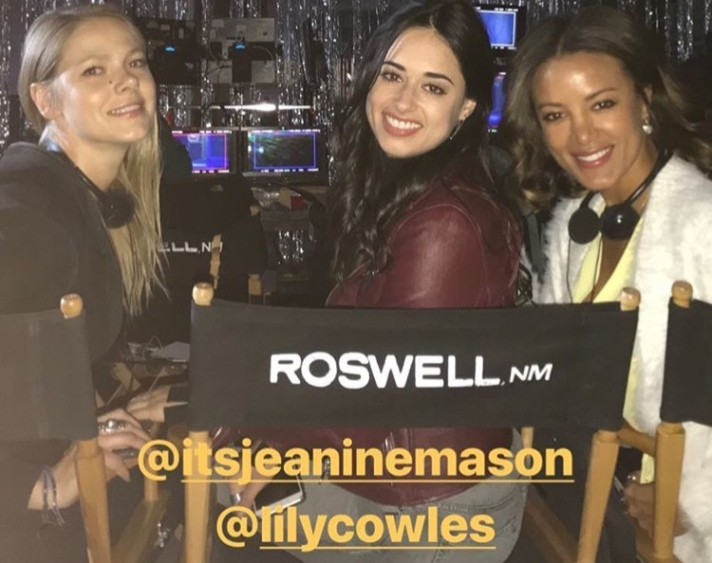 Roswell reboot Jeanine Mason Lily Cowles Heather Hemmens