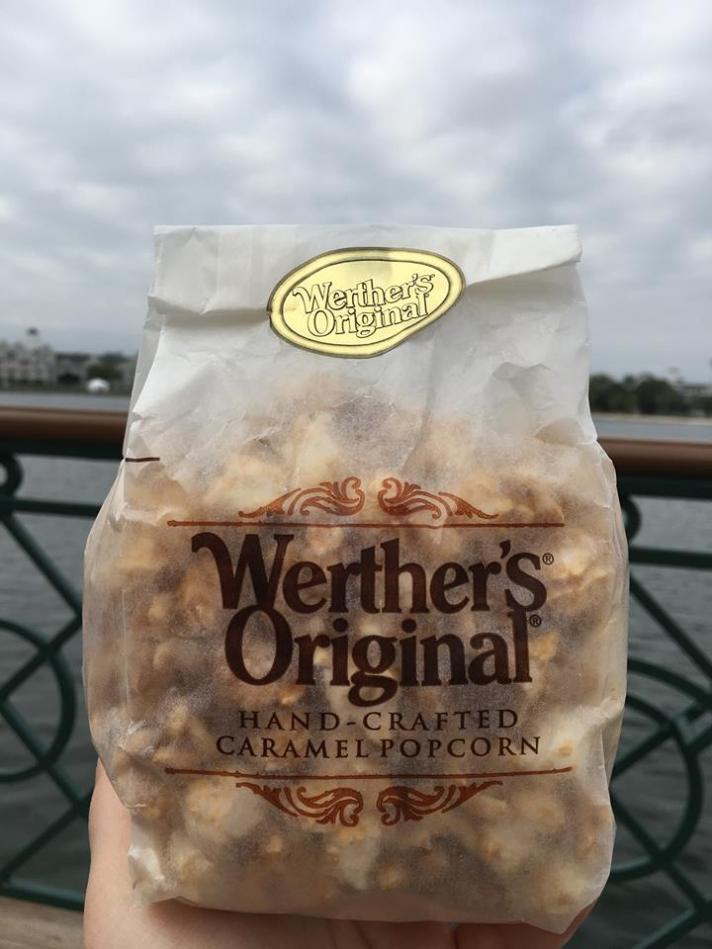 Wether's Original Caramel Popcorn Karamell-Kuche Disney